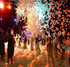 Fiestas de espuma