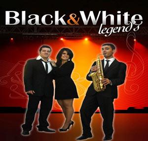 Trio Black and White